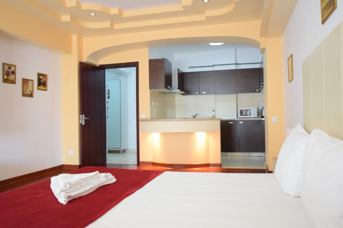 garsoniera in regim hotelie in Pipera